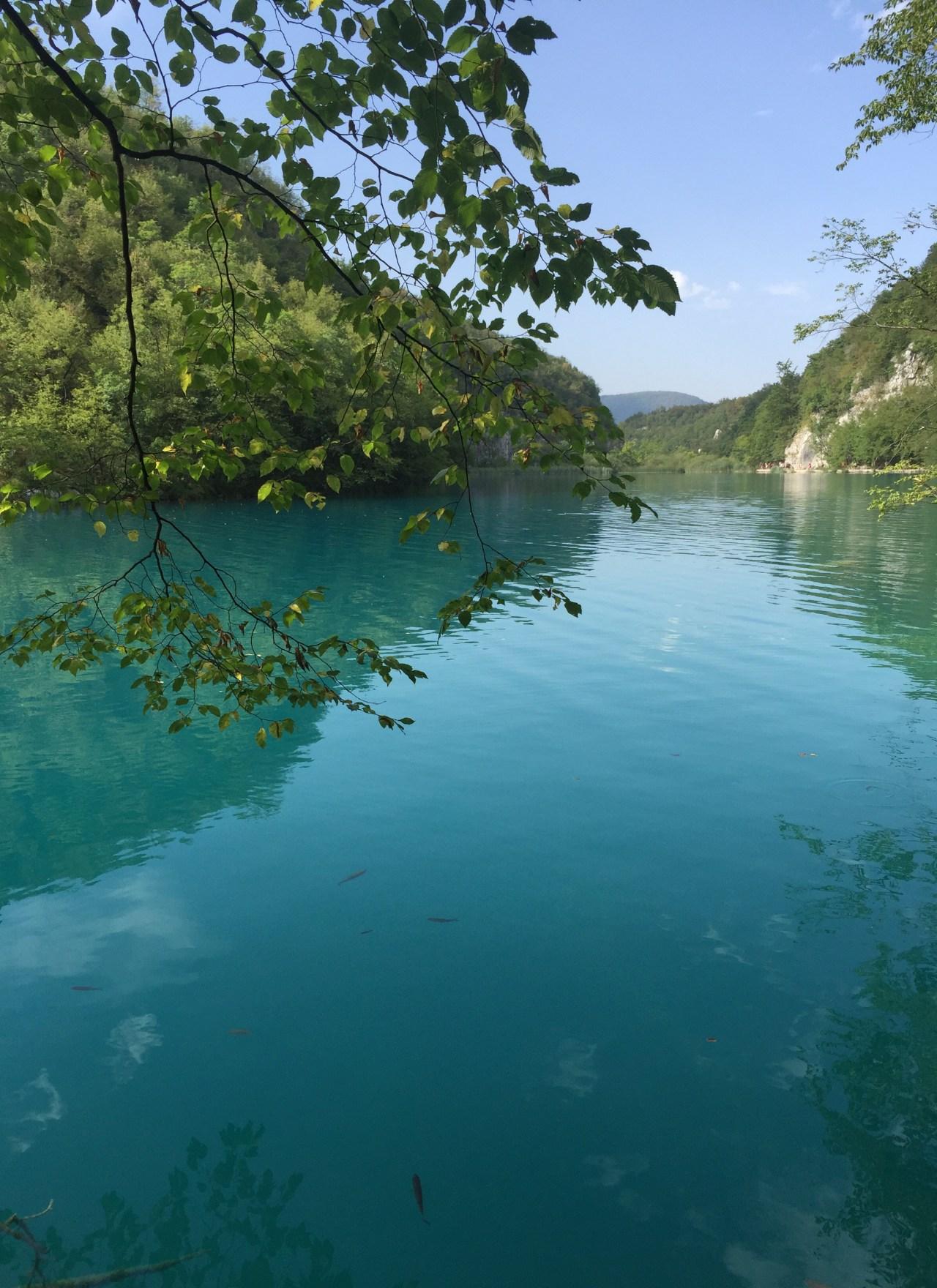 Turkoosien järvien Plitvice lakes