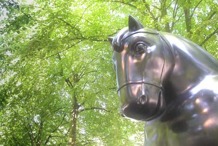 Paard van Botero