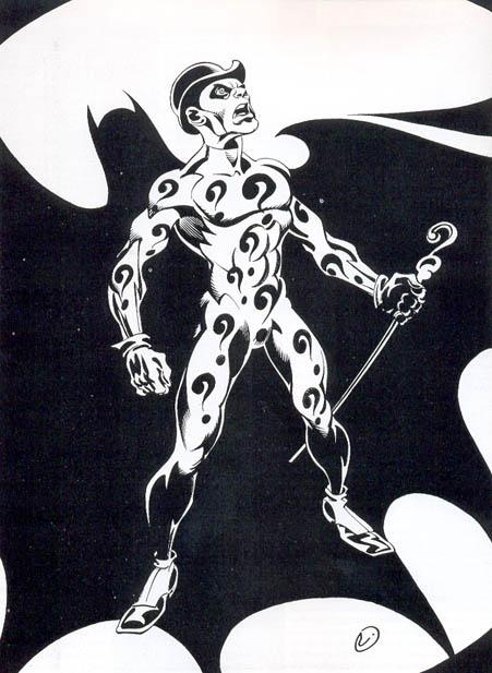 Enigmista in un disegno di Onofrio Catacchio