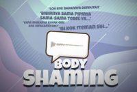 pengertian body shaming