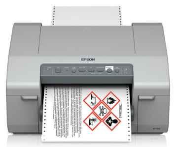 printer label inkjet