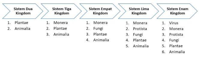 klasifikasi kingdom