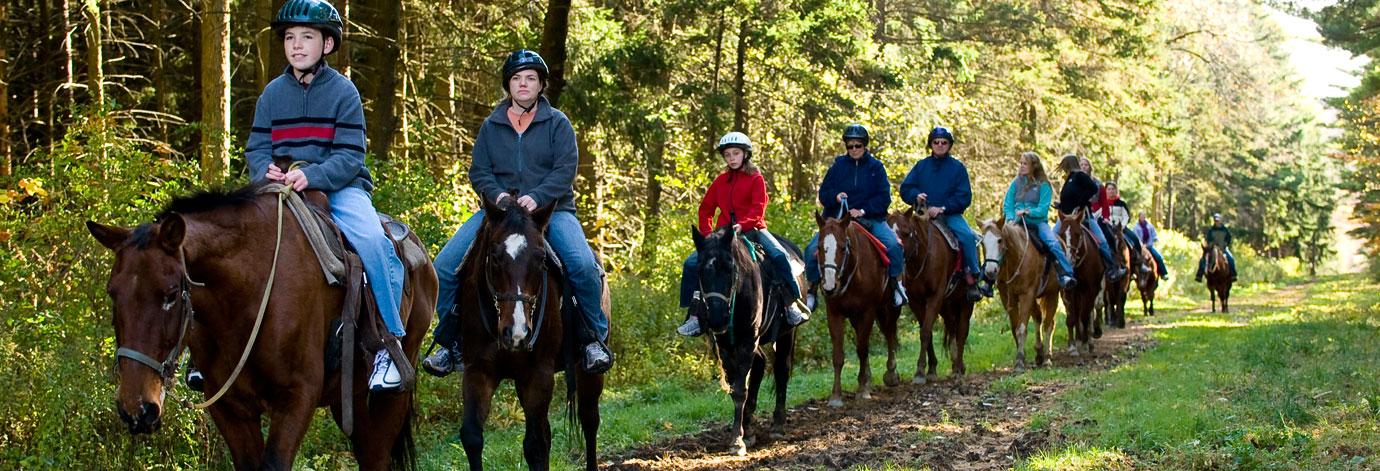 Horseback Riding  Onondaga County Parks