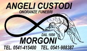 logo onoranze funebri riccione