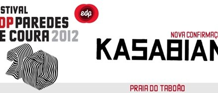 Kasabian confirmados no Festival EDP Paredes de Coura