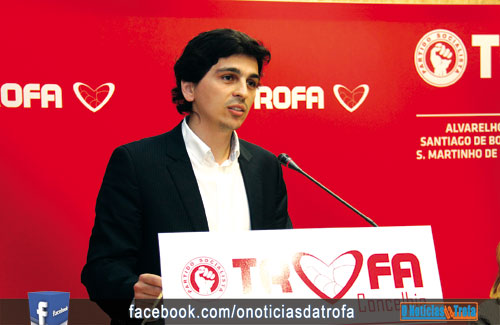 Marco Ferreira toma posse como presidente do PS Trofa