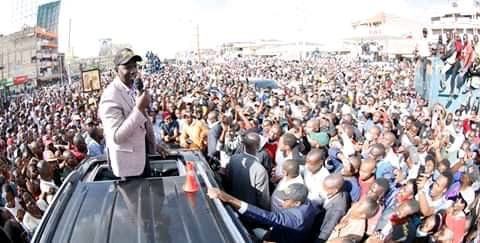 William Ruto dares the sysem to come with deep state and system as he comes with God and citizens