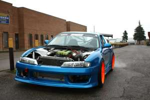 Dave Briggs' 465whp S14 Drift Car