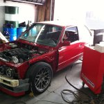 Shereef's E30 M3 – Supercharged M54