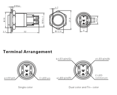 Momentary Rotary Switch SPDT Rotary Switch Wiring Diagram