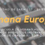 Semana Europea en UJA
