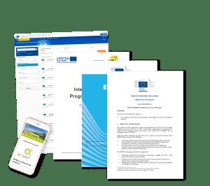 Programas de financiación europea Erasmus, Interreg, Horizonte Europa / Horizon 2020, Europa Creativa. Programas de Fondos Europeos