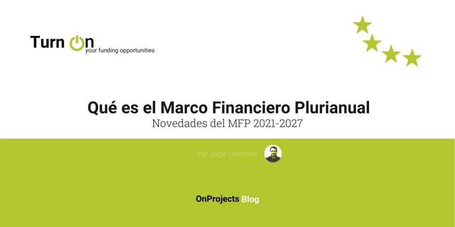 Marco financiero Plurianual 2021-2027