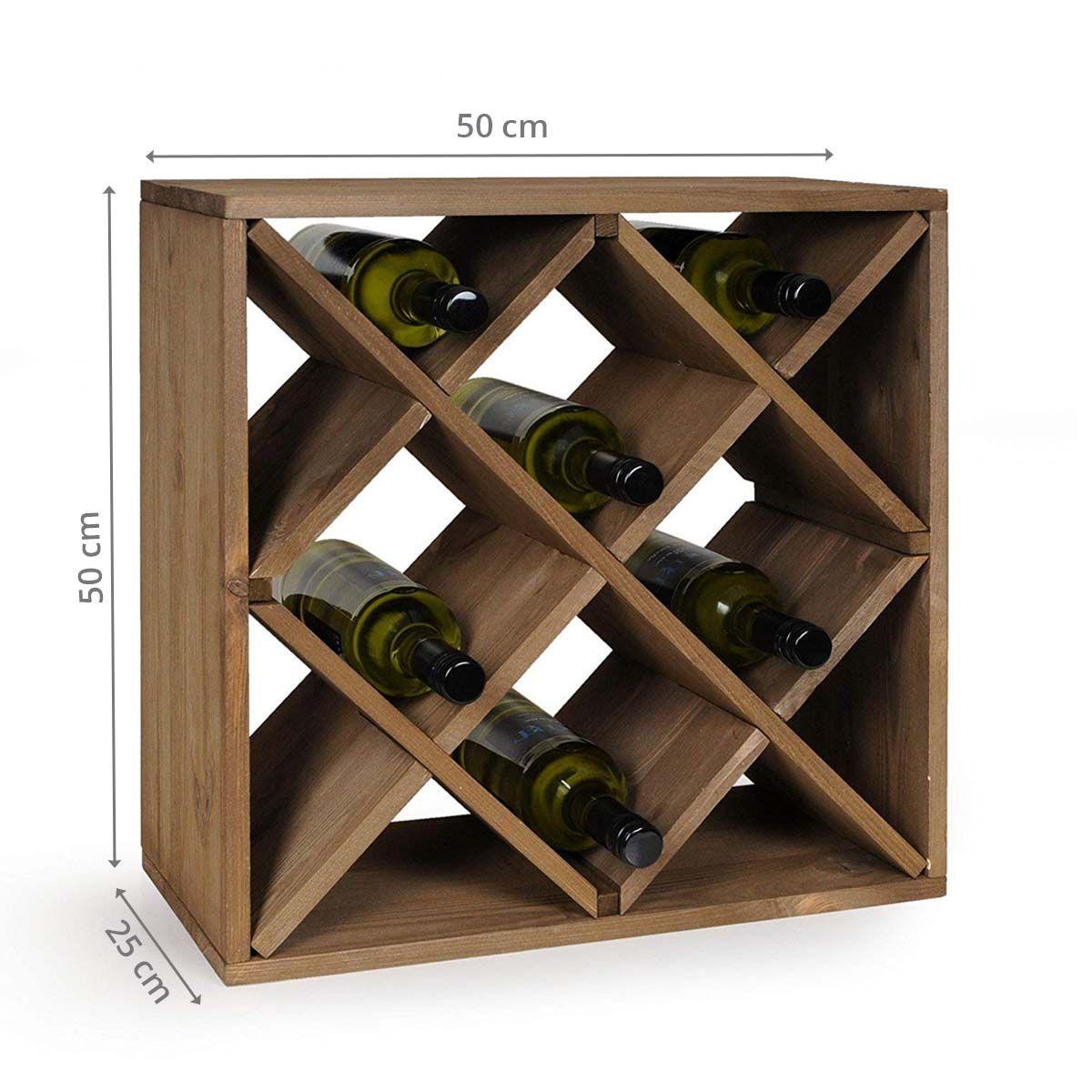 casier a croisillons pour 20 bouteilles