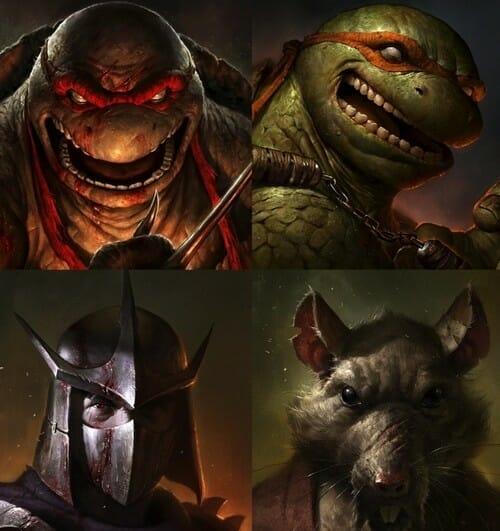 News premier trailer pour le retour des tortues ninja - Le rat des tortue ninja ...