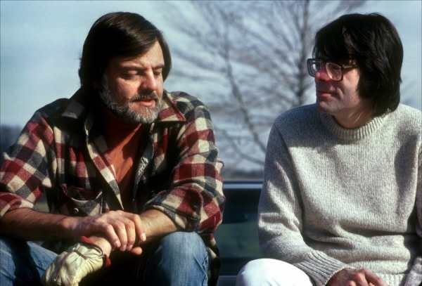 Stepehn-King-and-George-Romero