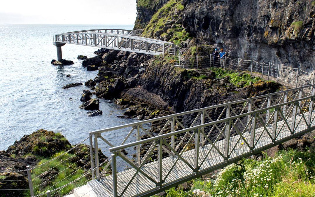 The Gobbins, en el corazón de la costa norte irlandesa