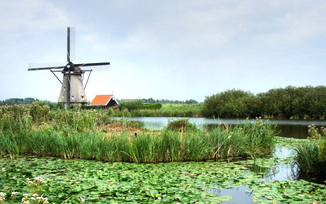Kinderdijk, el dique del niño