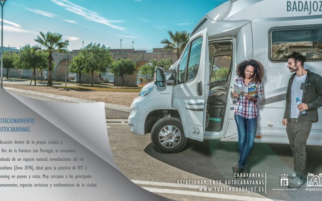 Estacionamiento Municipal de autocaravanas de Badajoz