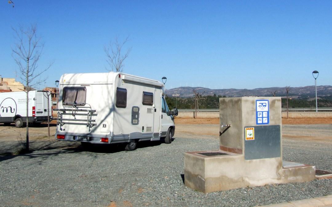 Área de autocaravanas del Masroig