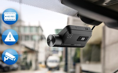 Alpine Dash Cam, tu guardián en la carretera