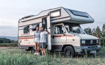 The Hurley Ventures, viajando en una LMC del 88