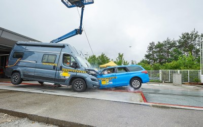 ADAC pone a prueba la seguridad de los vehiculos camper