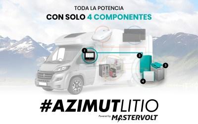 Solución de litio AZIMUT: energía y máximo confort, allá donde estés