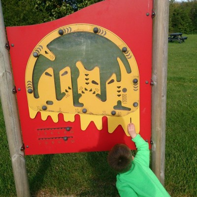 #taspic. Sqk loved this ping-pong game in play area at campsite