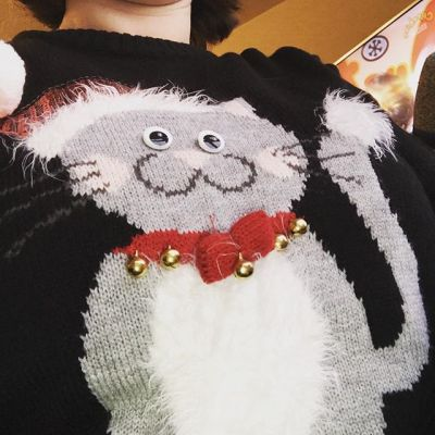 My Christmas jumper today...