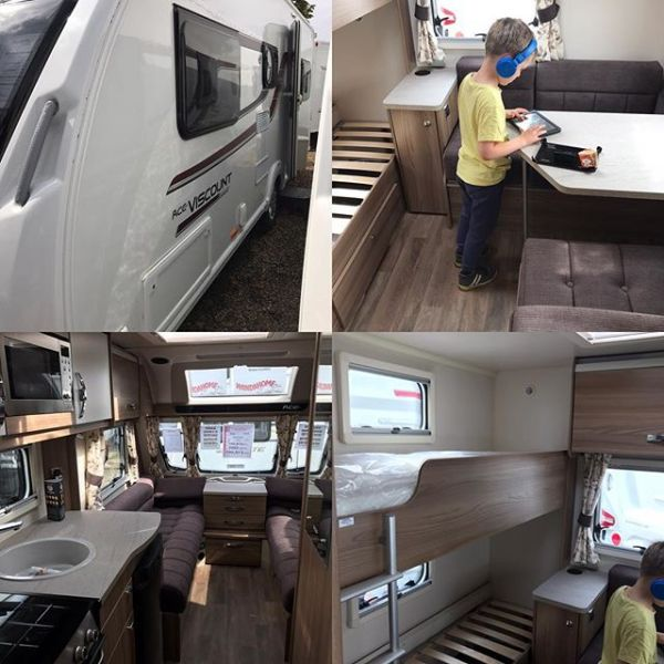 Well we have just purchased new caravan - T having passed extra license a fortnight ago. Pick up in 5 weeks... same dealer as we brought from 3 years ago...