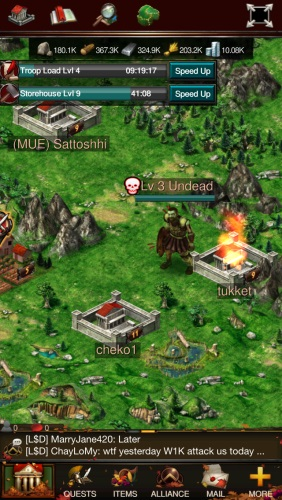 Game of War: Fire Age   OnRPG