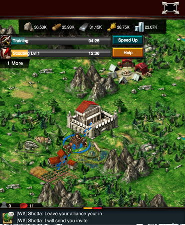 game of war fire