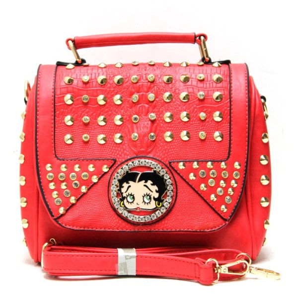 Betty Boop Messenger Bag - Arrivals Handbag
