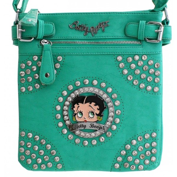 Betty Boop Messenger Bag - Handbags
