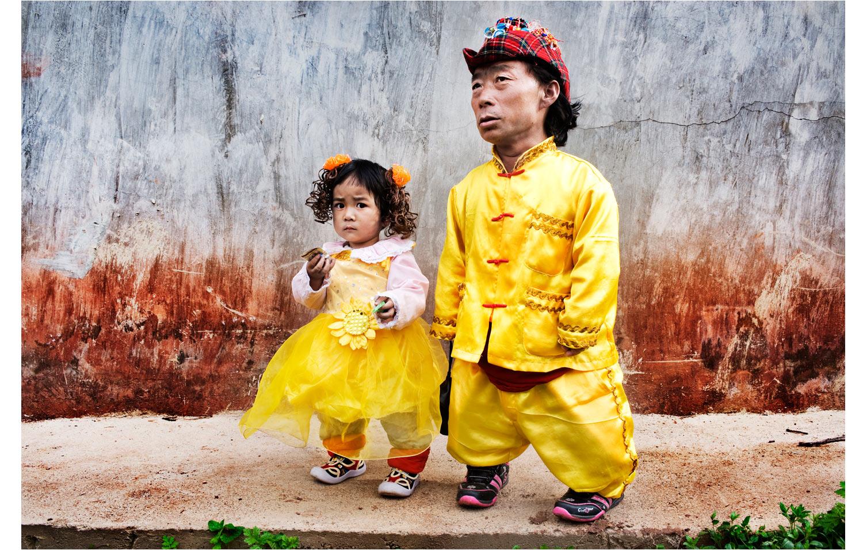 Parc dattraction avec des nains en Chine