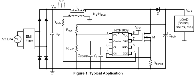NCP1608: Power Factor Controller (PFC), Critical