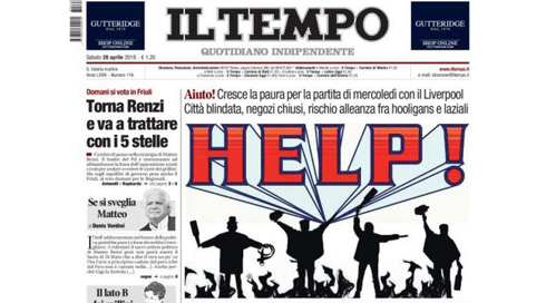 IL-Tempo-front-page