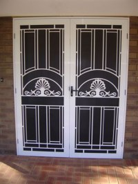Security Doors Melbourne | Security Grilles | On-Site ...