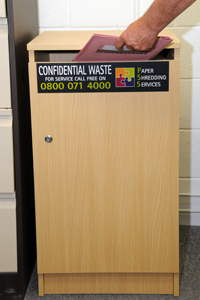Confidential Waste Bins Amp Cabinets Paper Shredding Services