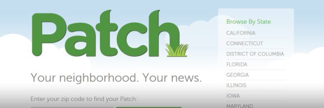 Patch is Downsizing: A Chance for Smaller Online News Sites?
