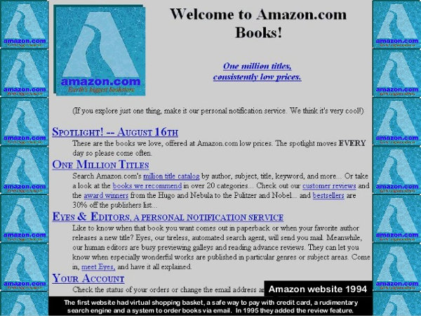 Amazon in 1994