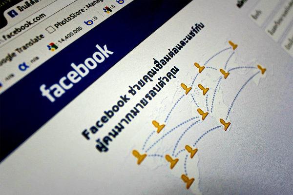Facebook language localisation