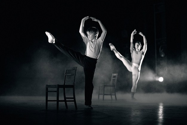 2. Liam Mower (Billy Elliot) and Isaac James (Older Billy), by David Scheinmann (2005)