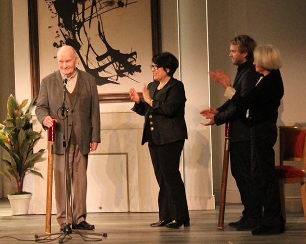 Michel Bouquet, Danielle Mathieu-Bouillon, Florian Zeller et Marie France Mignal