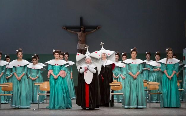 chanteuses de l'Académie de l'Opéra Comique / Les Cris de Paris / Nicole Monestier (la mère supérieure) / Doris Lamprecht (sœur Opportune)