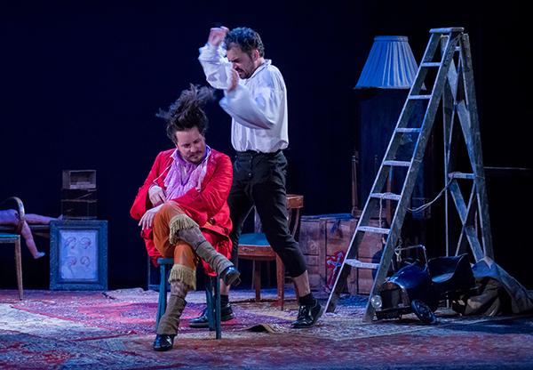 Arlequin et Dorante ( Nicolas Chupin et Philippe Calvario )