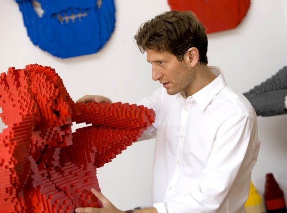 photo fournie par l'exposition Art Of Brick