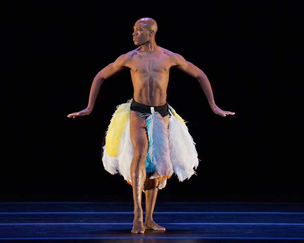 Antonio Douthit-Boyd in Awassa Astrige/Ostrich Alvin Ailey American Dance Theater Photo ©Paul Kolnik