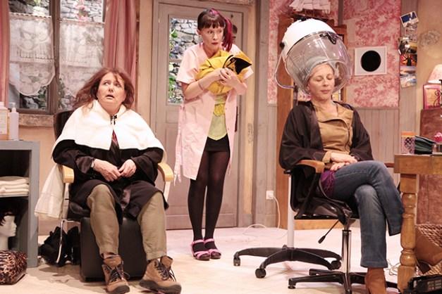 IMG_3094 Brigitte Faure, Sandrine Le Berre et Elisabeth Vitali COIFFURE ET CONFIDENCES ©Franck Harscouët